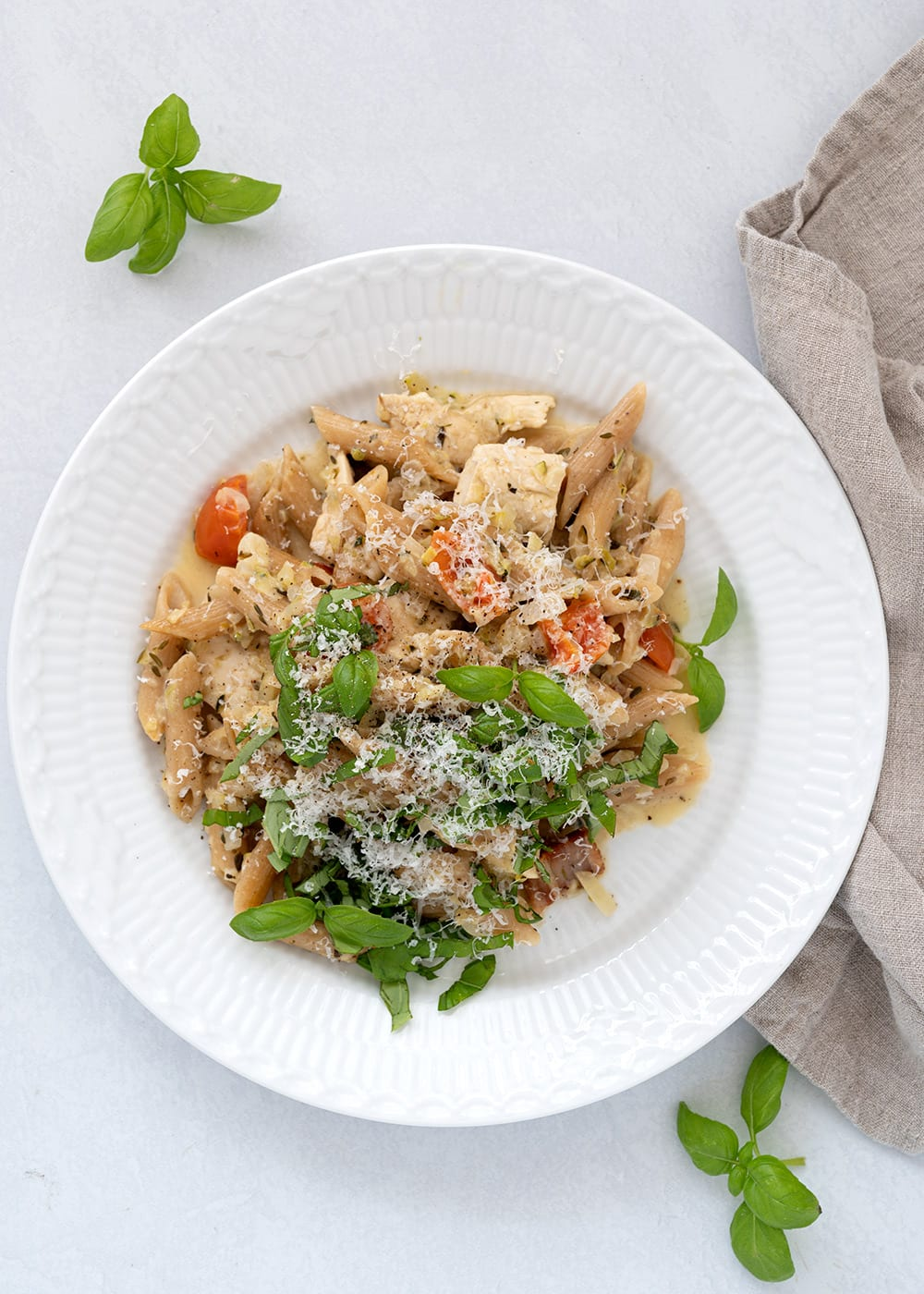 one pot pasta kylling bacon