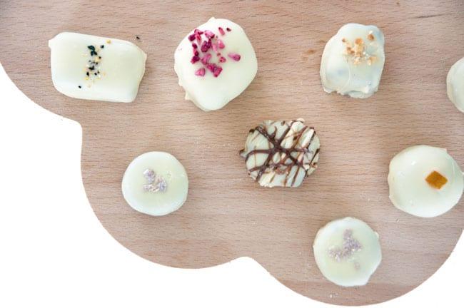 Hvide-chokolader