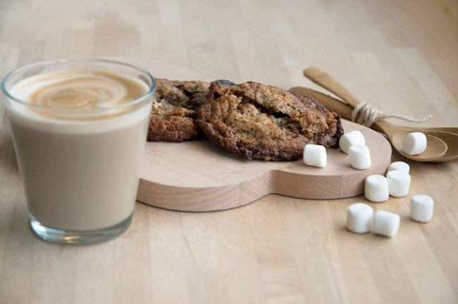 chokoladecookies marshmallows
