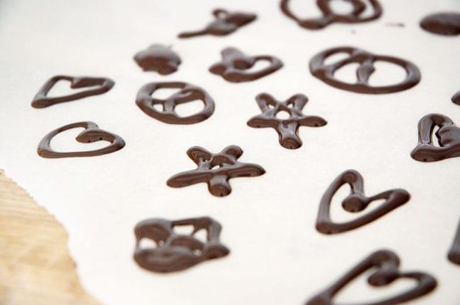 chokolade stjerner