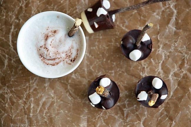 chokolade trøfler opskrift