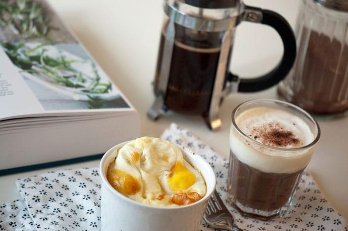 morgenmad æg og sennepscreme
