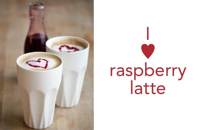 raspberry-latte