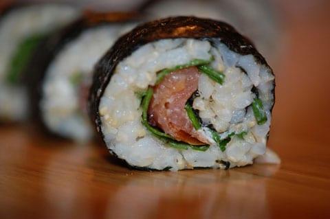 opskrift på sushi